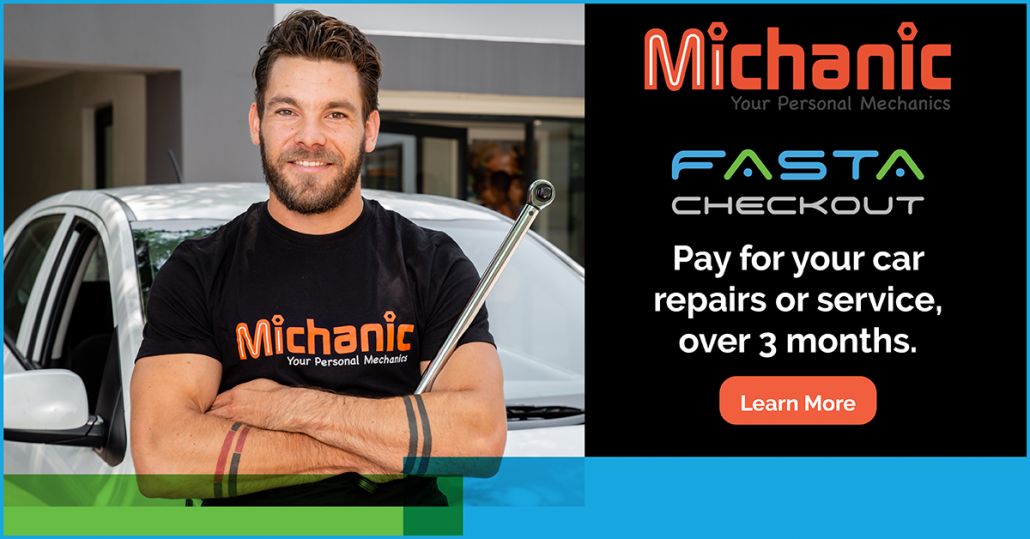 Fix or Service Your Car with Michanic and Pay Over 3 Months with FASTA CheckOut